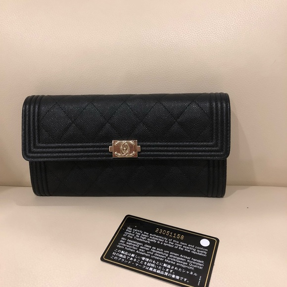 CHANEL Bags   Boy Flap Wallet   Poshmark a2399306ae